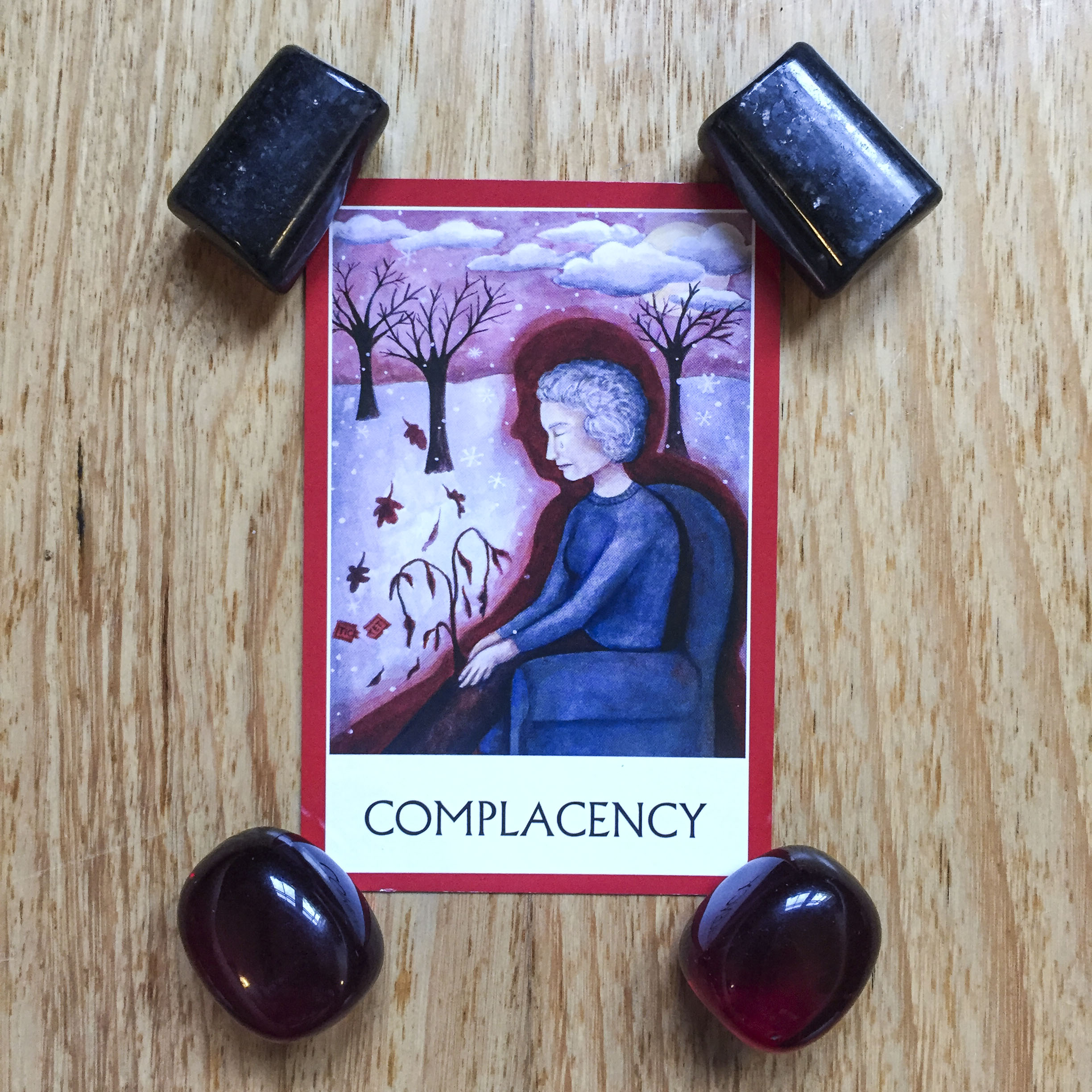 Card a day - complacency