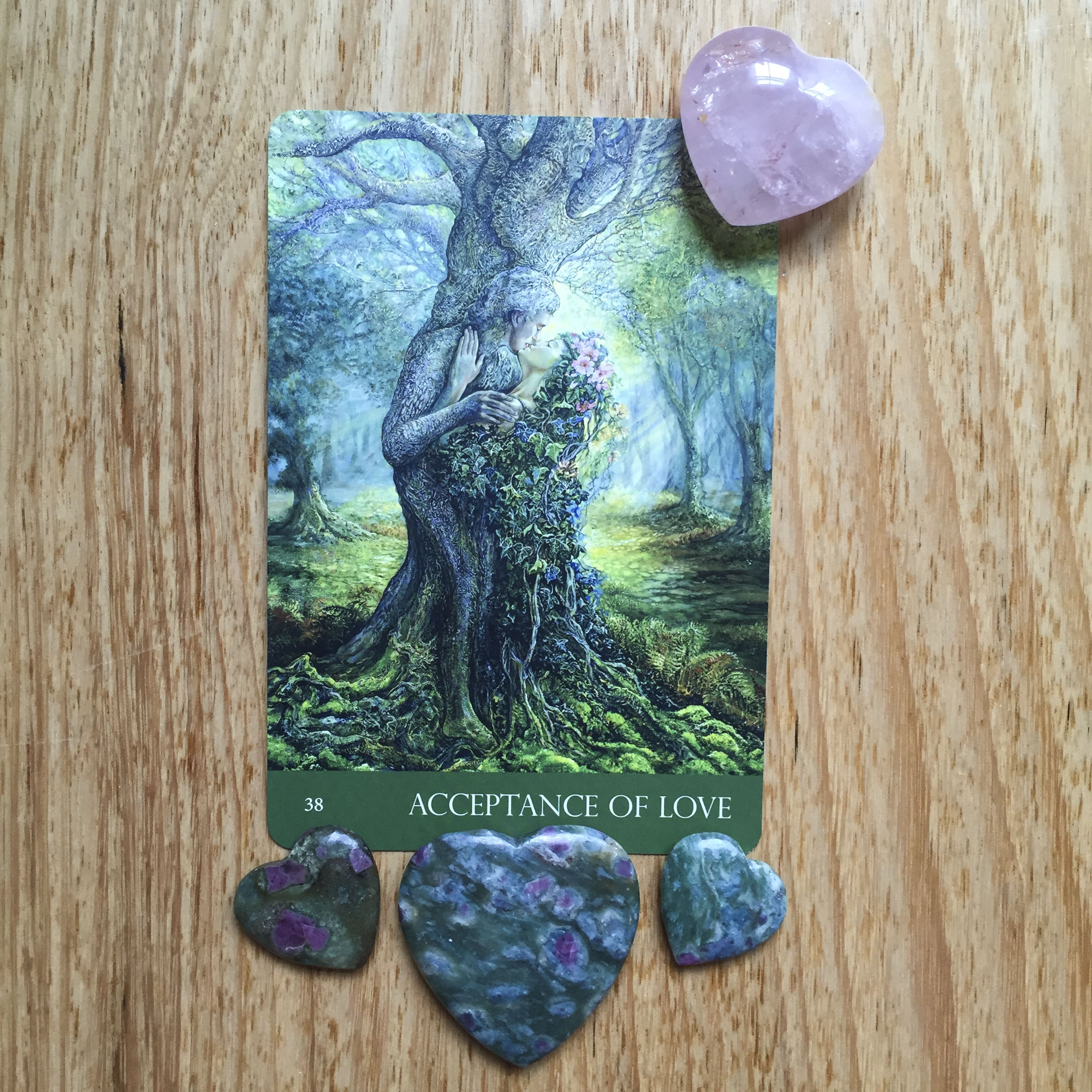 Card a day - acceptance of love