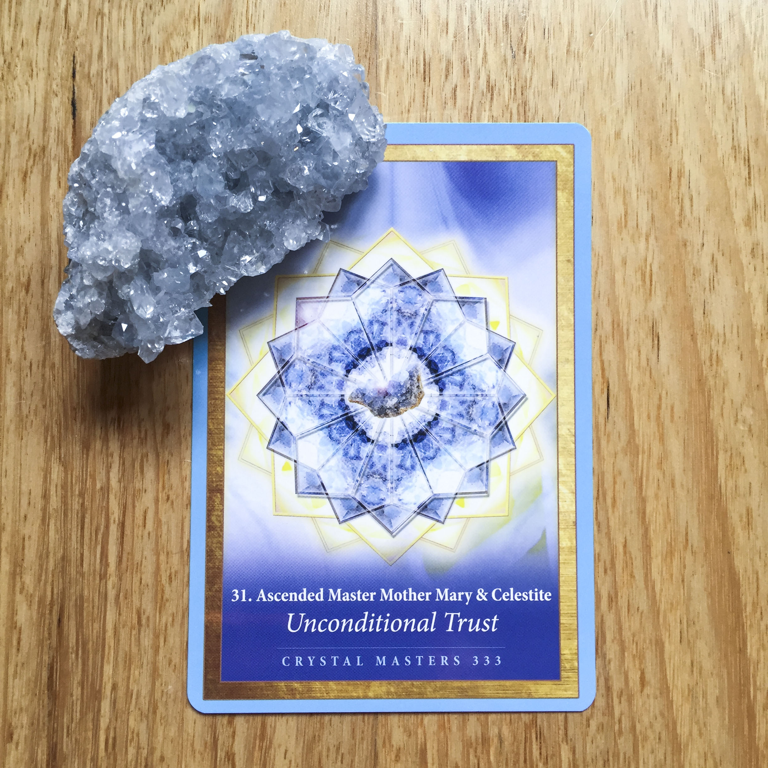 Card a day - unconditional trust