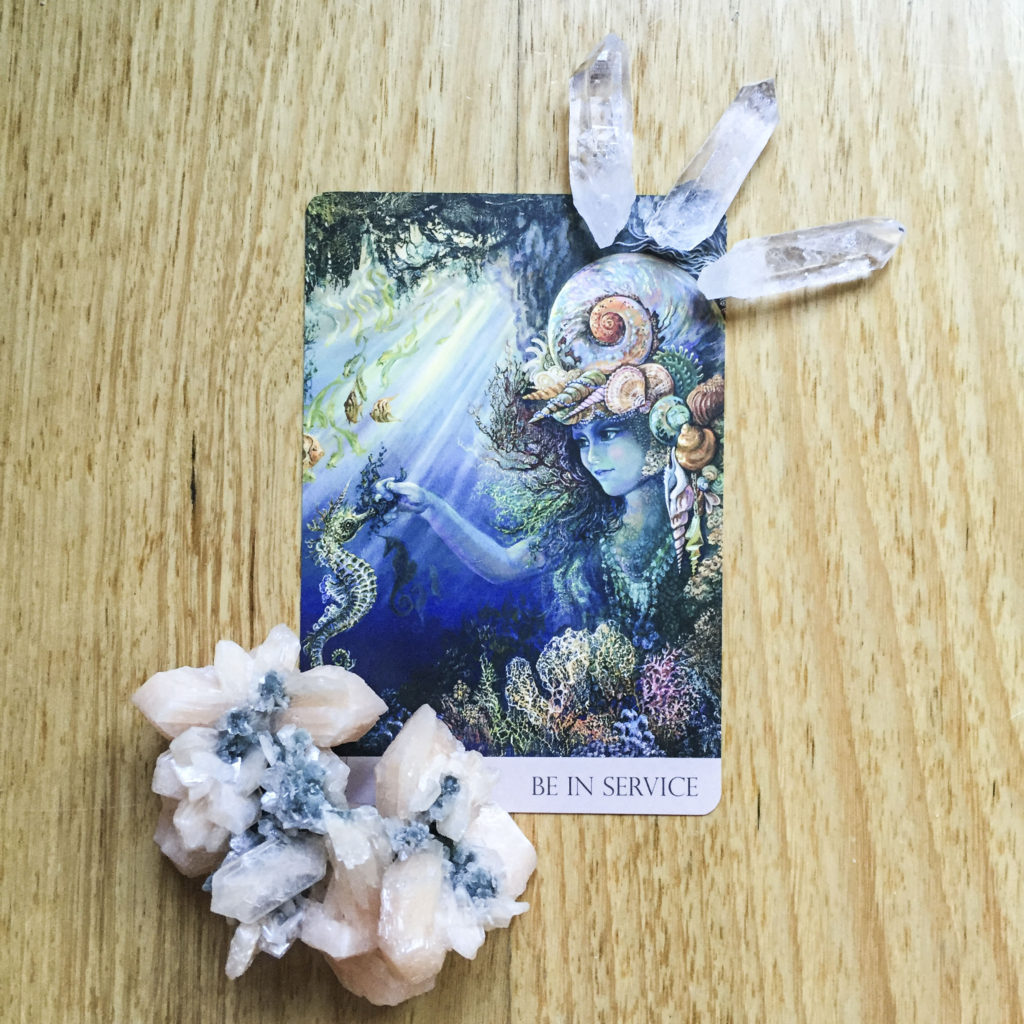 Card reading: be in service