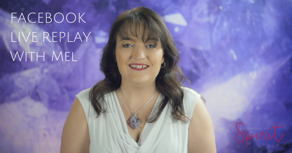 Facebook Live Replay - the power of crystals and clear intentions